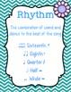 Music Anchor Charts {Garden of Music}