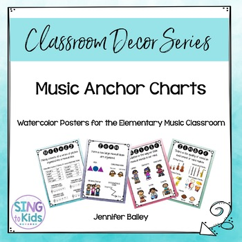 Music Anchor Charts for the MLT Inspired Classroom: Waterc