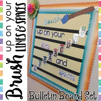 Music Bulletin Board: Brush Up on Your Lines and Spaces {T