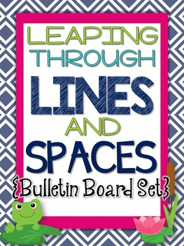 Music Bulletin Board:Leaping Through the Lines and Spaces