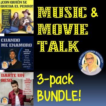 Music & MovieTalk Bundle - Enrique Iglesias, Prince Royce,