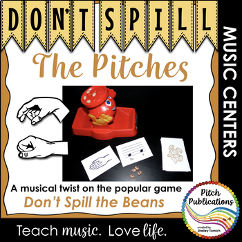 Music Center: Don't Spill the Pitches! - Solfege Pitch Not
