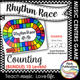 Music Centers: Rhythm Race Counting Edition {BUNDLE} Level