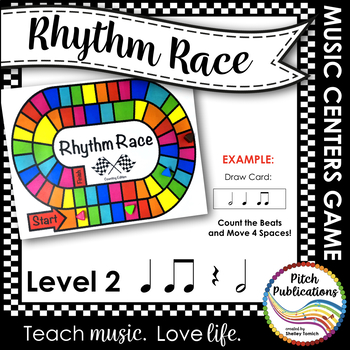 Music Centers: Rhythm Race Counting Edition Level 2 - Rhythm Game