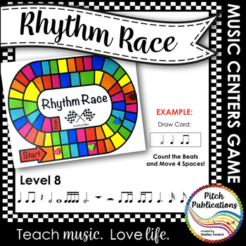 Music Centers: Rhythm Race Counting Edition Level 8 - Rhythm Game