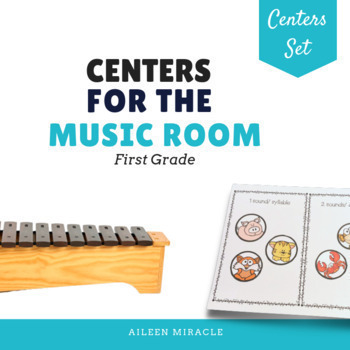 Music Centers Set {1st Grade Bundle}
