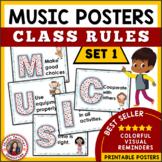 Music Decor: Class Rules Set 1
