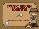 Music Sleuth Training Set 1