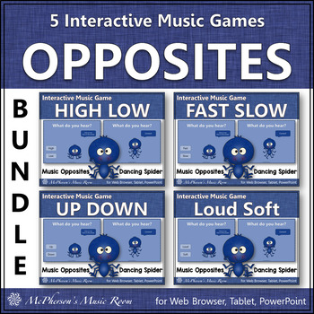 Music Comparatives: Bundle of Interactive Music Games {Dan