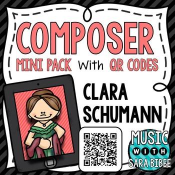 Music Composer Mini Pack- Clara Schumann