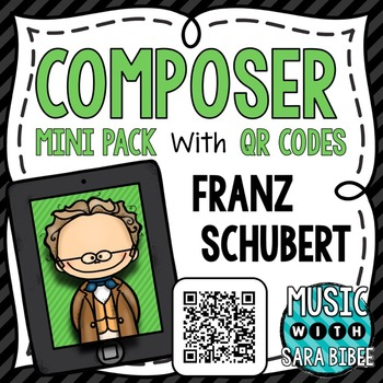 Music Composer Mini Pack- Franz Schubert