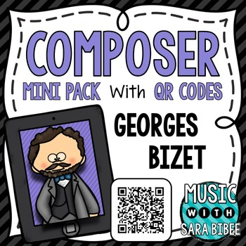 Music Composer Mini Pack- Georges Bizet