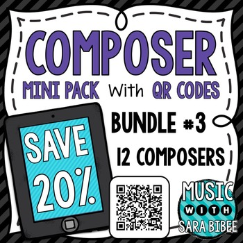 Music Composer Mini Pack- Mega Bundle #3- Save 20%