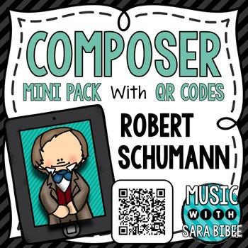 Music Composer Mini Pack- Robert Schumann
