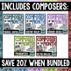 Music Composer of the Month- Bundle #3- Traditional Composers