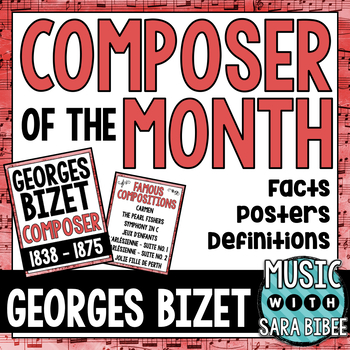 Music Composer of the Month: Georges Bizet
