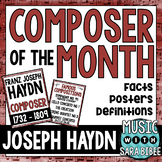 Music Composer of the Month: Haydn- Bulletin Board Pack