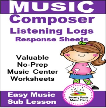 Music Composers {Listening Logs-Response Sheets}