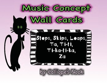 Music Concept Wall Cards