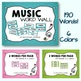 Music Decor Bundle - Green & Gingham - Coordinates with Te