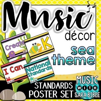 Music Decor: Sea-Themed Music Statements and Standards