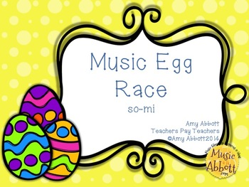 Music Egg Race Game: so-mi version