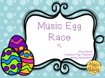 Music Egg Race Game: ti