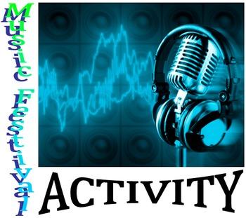 Algebra - Music Festival Activity