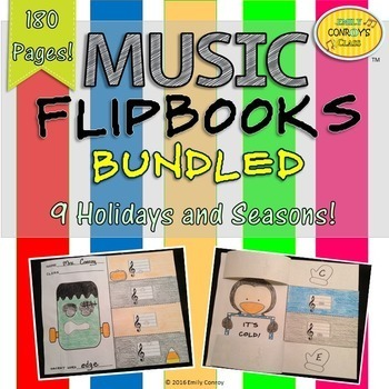 Music Activities (Music Flipbooks BUNDLED)