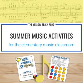 Music Fun in the Summer Sun