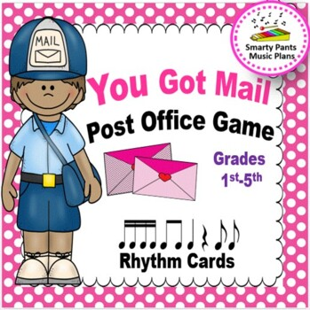 Post Office Music Game {You Got Mail}