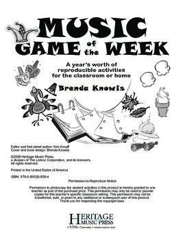 Music Game of the Week: January - February
