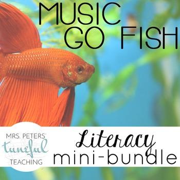 Music Go Fish - Music Literacy Mini-Bundle
