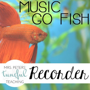 Music Go Fish - Recorder Fingerings