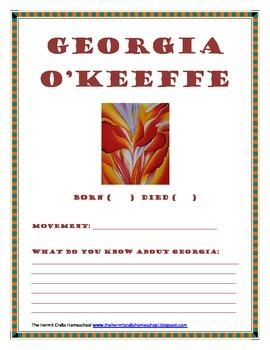 GIORGIA O'KKEFEE