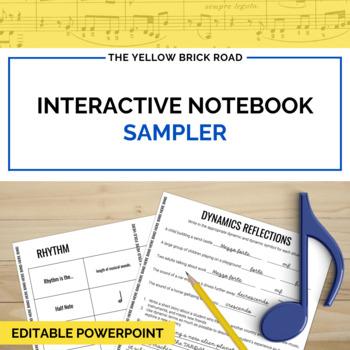 Music Interactive Notebook Sampler