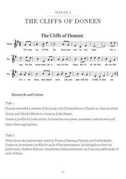 Music Investigation: The Cliffs of Doneen