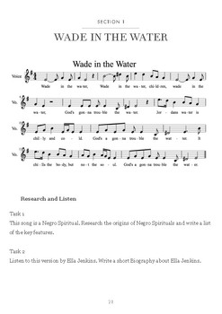 Music Investigation: Wade in the Water