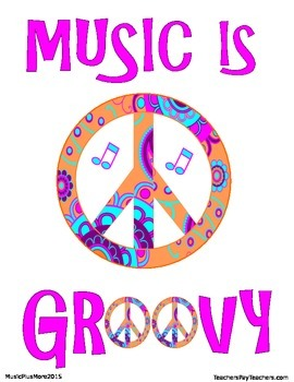 Music Is Groovy Sign