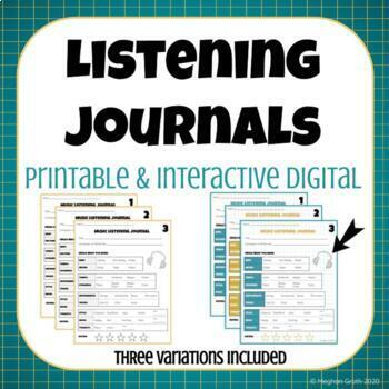 Music Listening Journal