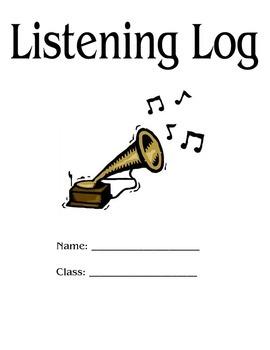 Music Listening Log