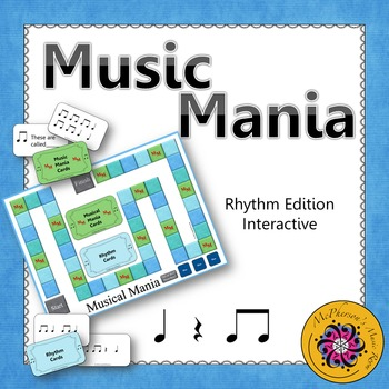 Music Mania Rhythm Edition Eighth Notes {Interactive Game}
