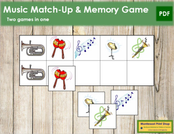 Music Match-Up and Memory