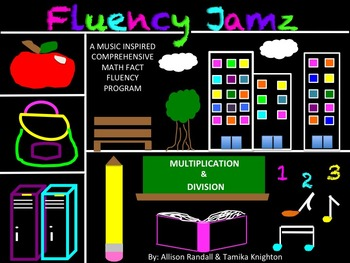 """Music Math Fact Fluency """"Doubles Song"""" and Practice Activi"""