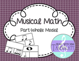 Music Math: Part Whole Relationship