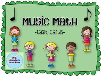 Music Math Task Cards