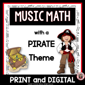 Music Math with a Pirate Theme