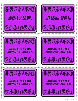 Music Memory Match Games