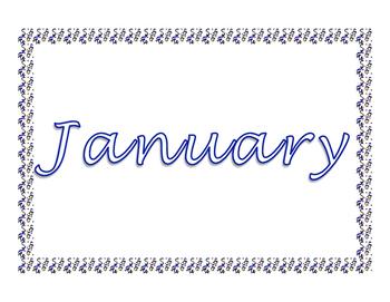 Music Monthly Calendar