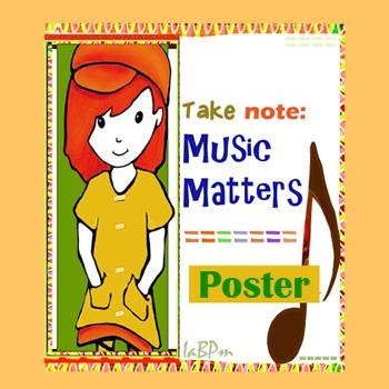 Music Matters Poster